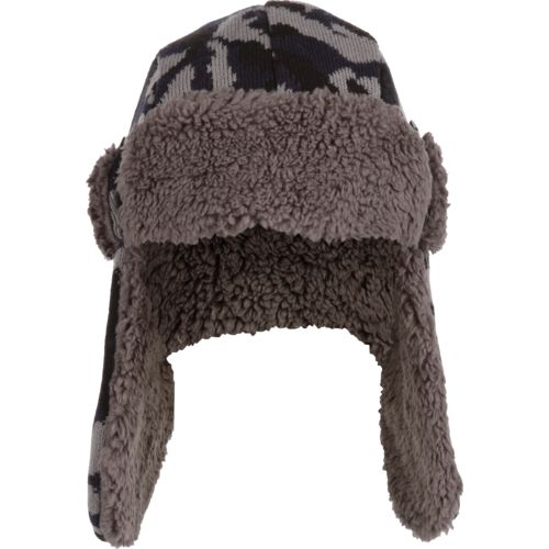 Magellan Outdoors Boys' Camo Jacquard Trapper Hat