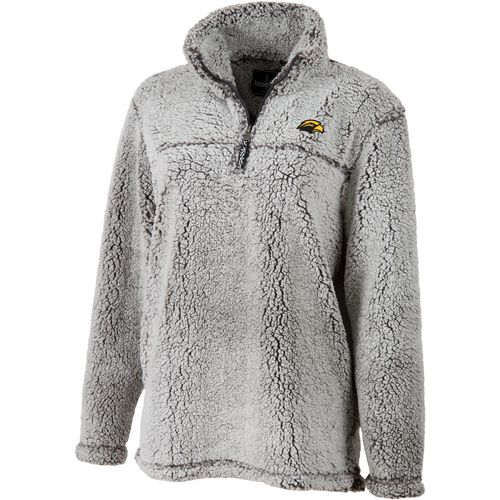 Boxercraft Women's University of Southern Mississippi Sherpa 1/4 Zip Pullover
