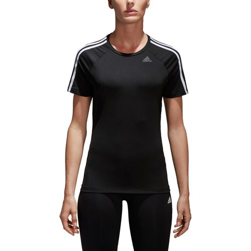 adidas Women's D2M 3-Stripes T-shirt - view number 5