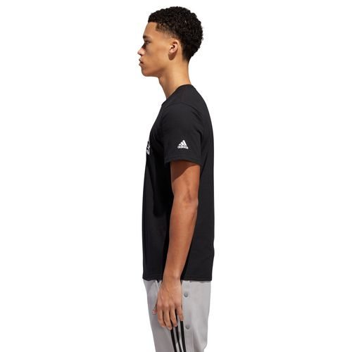 adidas Men's Linear Chopped T-shirt - view number 5