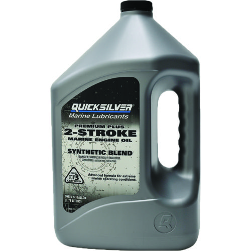 Quicksilver 1-Gallon Synthetic Blend 2-Stroke TC-W3 Outboard Oil