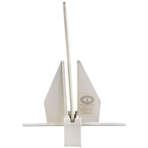 Greenfield Products American Yachting Series 12 lb Fluke Anchor