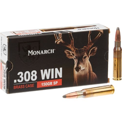 Monarch® SP .308 Winchester 150-Grain Rifle Ammunition