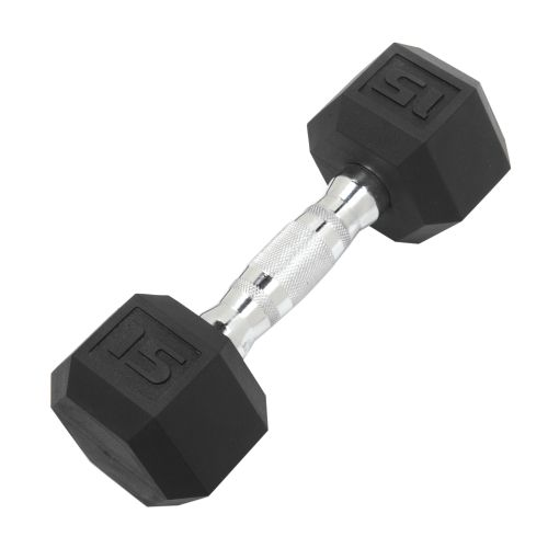 CAP Barbell 15 lb. Coated Hex Dumbbell - view number 1