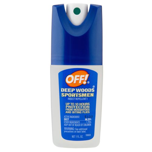 OFF! Deep Woods® Sportsmen 1 oz. Pump Spray Insect Repellent