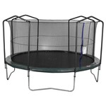 Jump Zone™ 15' Round Trampoline with Enclosure