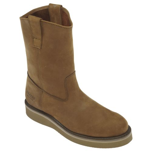 Brazos™ Men's Wellington Steel Toe Work Boots - view number 2