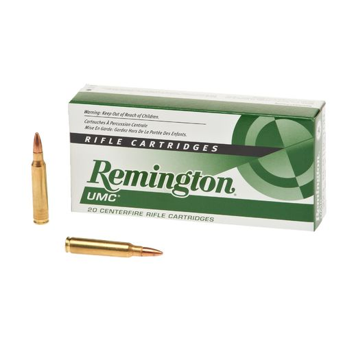Remington UMC .223 55-Grain FMJ Centerfire Rifle Ammunition - view number 1