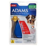 Adams™ Spot On Dog 32 - 55 lb. Topical Flea and Tick Treatment 3-Pack