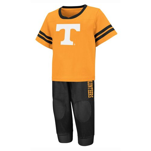Colosseum Athletics Toddlers' University of Tennessee Quarterback Shirt and Pant Combo Set