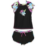O'rageous® Girls' High Tech Daisy Rash Guard and Boardshort Set