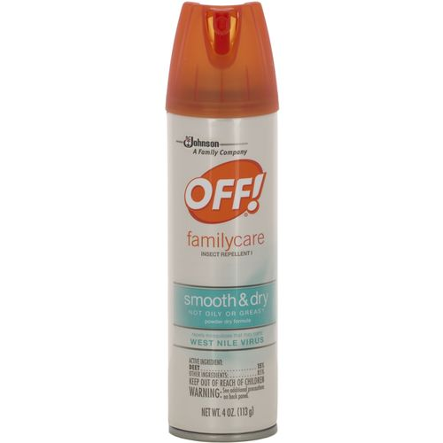 OFF! Family Care 4 oz. Smooth and Dry Aerosol Mosquito Repellent