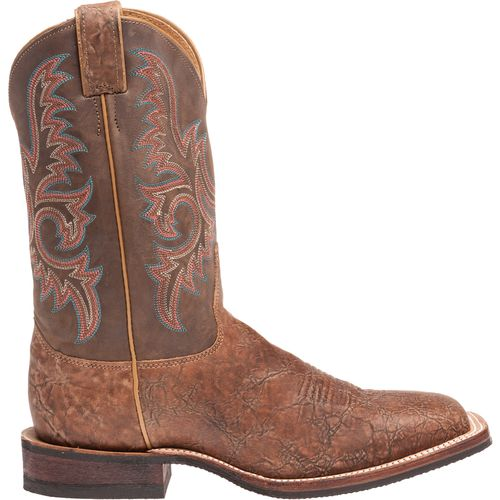 Justin Men s Bent Rail Old Map Western Boots