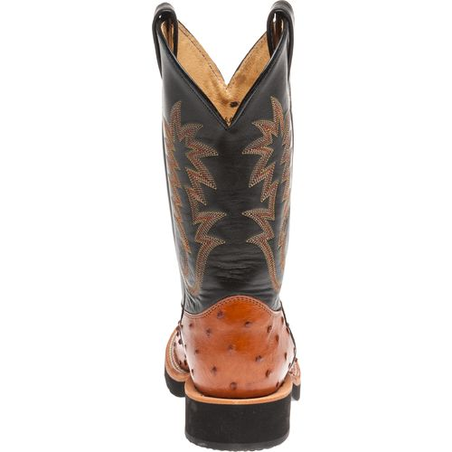 Justin Men's Exotics Full-Quill Ostrich Western Boots - view number 7
