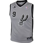 adidas™ Youth San Antonio Spurs Tony Parker #9 Revolution 30 Replica Alternate Jersey