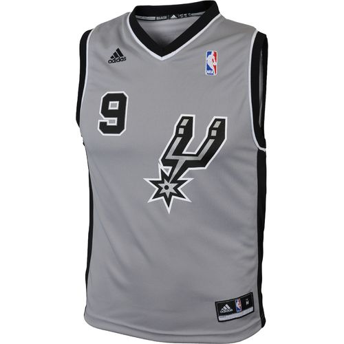 adidas Youth San Antonio Spurs Tony Parker No. 9 Revolution 30 Replica Alternate Jersey