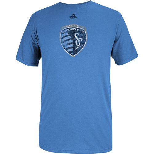 adidas™ Men's Sporting Kansas City Logo Set Short Sleeve T-shirt