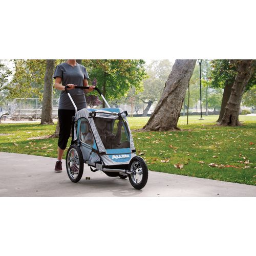Allen Sports SST1 2-in-1 Hitch-Mounted Bike Trailer/Jogger - view number 4