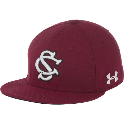 Under Armour  Adults  University of South Carolina Wool Solid Baseball Cap