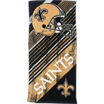 The Northwest Company New Orleans Saints Diagonal Sports Beach Towel