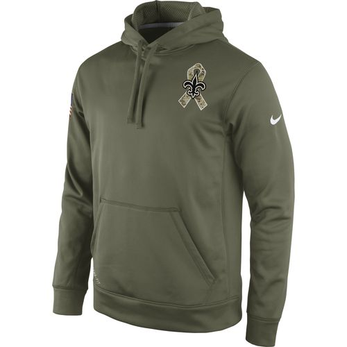 Nike Men s New Orleans Saints Salute to Service KO Hoodie