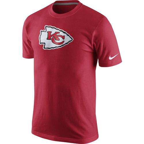 Image for Nike Men's Kansas City Chiefs Fast Logo T-shirt from Academy