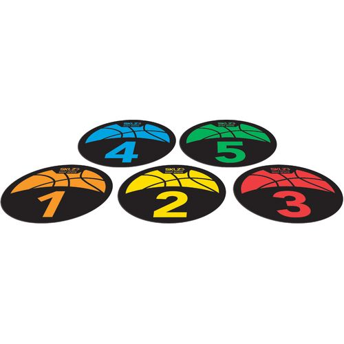 SKLZ Shot Spotz Basketball Training Markers and Game Set