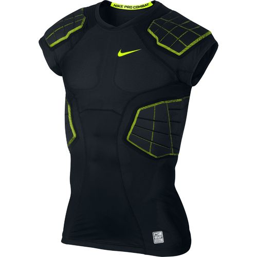 Nike Boys' Hyperstrong Pro Combat 4-Pad Football Top