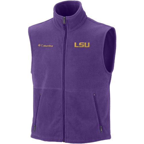 Columbia Sportswear Men s Louisiana State University Flanker  Vest