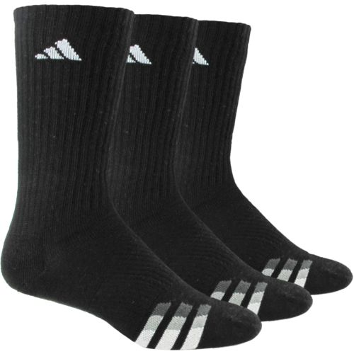 Display product reviews for adidas Men's climalite Crew Socks 3 Pack