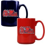 Great American Products University of Mississippi 15 oz. Coffee Mugs 2-Pack