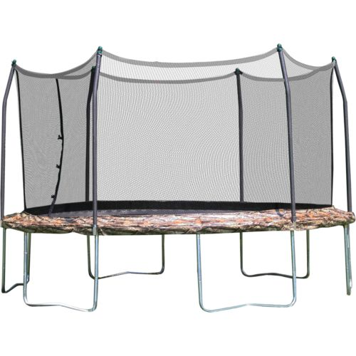 Skywalker Trampolines 12' Round Camo Trampoline with Enclosure - view number 1