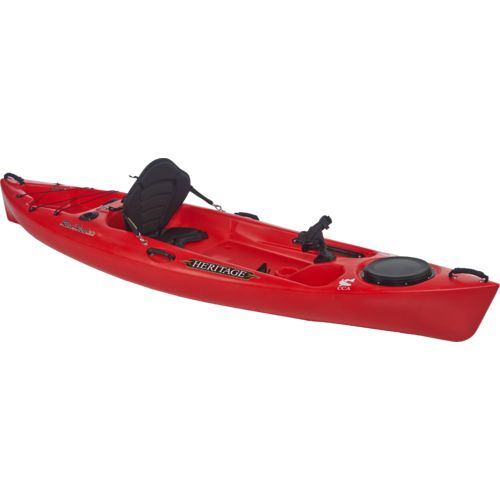 Heritage redfish 10 39 sit on fishing kayak academy for Fishing kayak academy