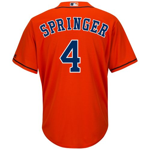Majestic Men's Houston Astros George Springer #4 Cool Base® Replica Jersey