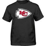 NFL Infant Boys' Kansas City Chiefs Team Logo Short Sleeve T-shirt