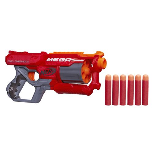 Display product reviews for NERF N-Strike Elite Mega Cycloneshock Blaster