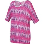 BCG™ Women's Studio Long Sleeve Crochet Keyhole Top
