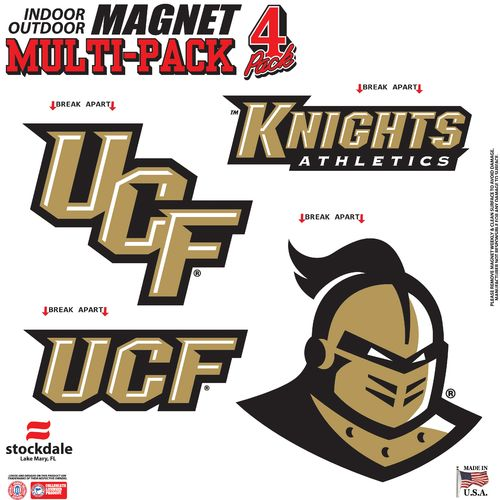 Stockdale University of Central Florida Magnets 4-Pack