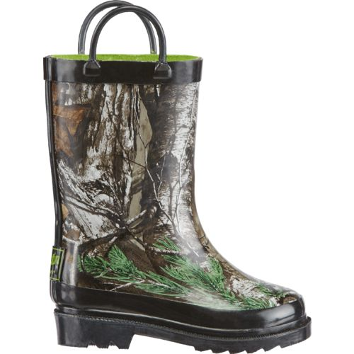 Austin Trading Co. Toddler Boys' Realtree Xtra Rubber Boots