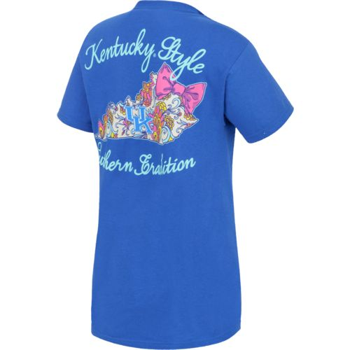 New World Graphics Women's University of Kentucky Short Sleeve T-shirt