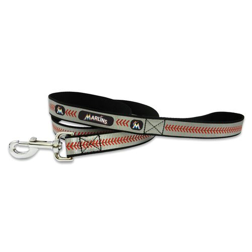 GameWear Miami Marlins Reflective Baseball Leash