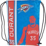 NBA Oklahoma City Thunder Kevin Durant #35 Elite Drawstring Backpack