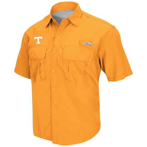 Colosseum Athletics Men's University of Tennessee Swivel Fishing Shirt