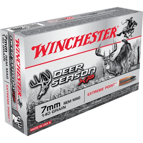 Winchester Deer Season XP 7mm Remington Mag 140-Grain Rifle Ammunition - view number 1