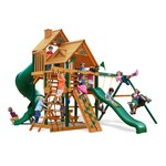 Gorilla Playsets™ Great Skye I Swing Set with Timber Shield™