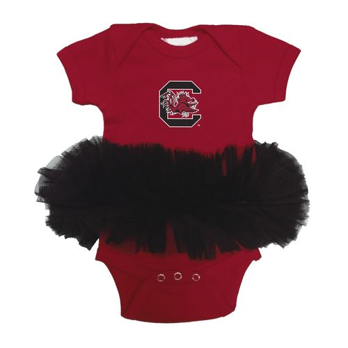 Two Feet Ahead Infants' University of South Carolina Tutu Creeper