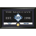 The Highland Mint Tampa Bay Rays Man Cave Bronze Coin Photo Mint