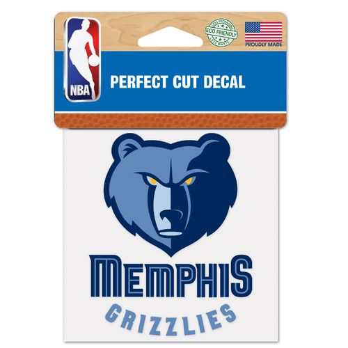 WinCraft Memphis Grizzlies Perfect Cut Decal