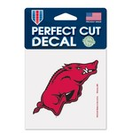 WinCraft University of Arkansas Perfect Cut Decal
