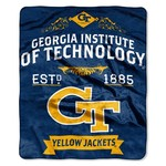 The Northwest Company Georgia Tech Label Raschel Throw
